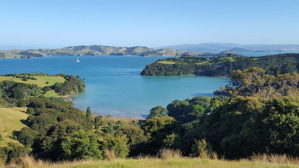 Waiheke Island bays and headline