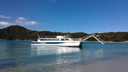Abel Tasman Shuttle - plank