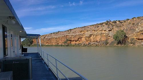 Murray River Cruise Deck Views