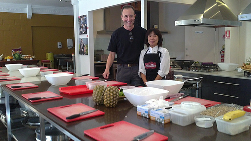 Sticky Rice Cooking School with chef
