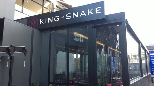 Christchurch Restaurant King of Snake