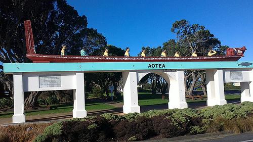 Aotea Waka monumet Patea