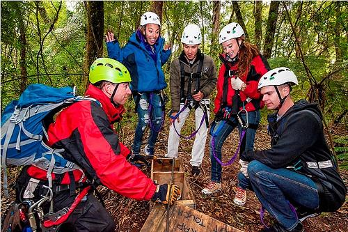 Canopy Tours Rotorua and traps2