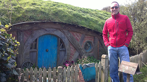 Hobbit House and Michael