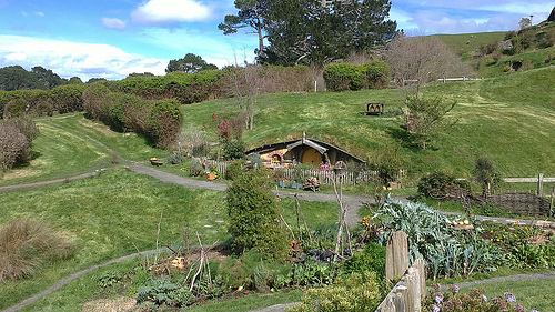 Hobbiton Matamata New Zealand - Movie Set Tour