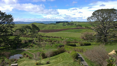 Hobbiton Matamata New Zealand - Movie Set Tour