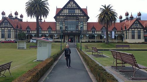 Rotorua iconic building
