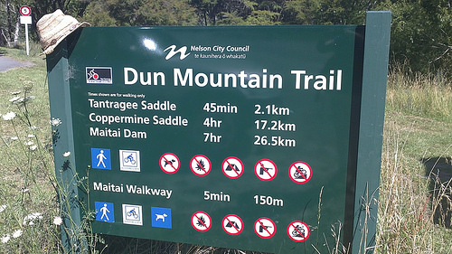 Dun Mountain Trail Mitai Valley