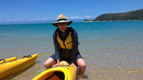 Hot summer days New Zealand