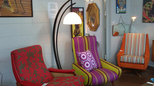 Greytown Art Deco Shop chairs
