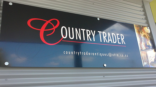 Greytown Country Trader sign