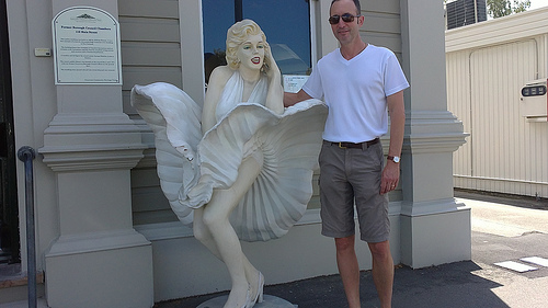 Greytown and Marilyn Monroe