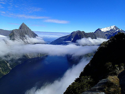 Milford Sound Flight 2 by John Paul