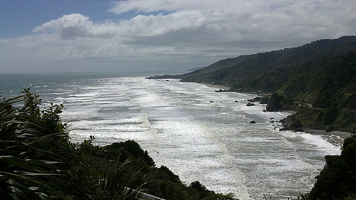 Punakaiki Beach views 2