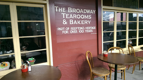 Reefton Tearooms and Bearded Mining Company
