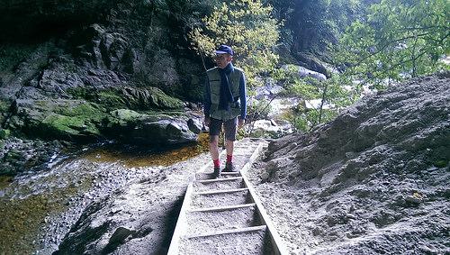Oparara Arch Track steps