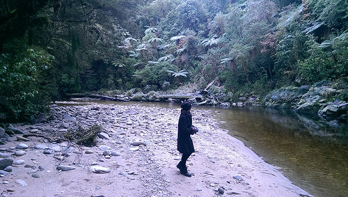 Oparara Arch Walk with Pam