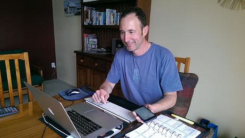 Internet blog michael working