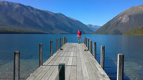 New Zealand explore St Arnaud