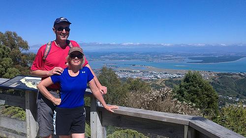 Pam and Michael Grampian Walk