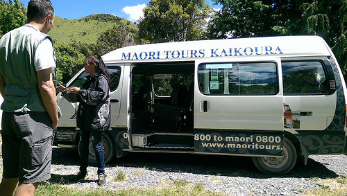 Maori Tour Kaikoura and van