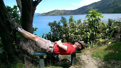 Queen Charlotte Sound Day walk and sleep