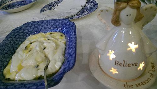 Eden Villa Auckland B & B breakfast yoghurt