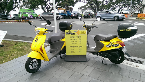 Devonport Scooters for hire