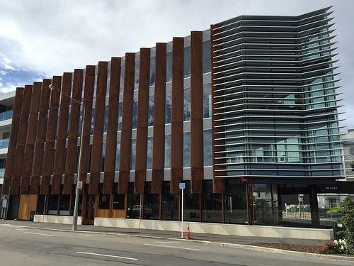 Christchurch rebuild Victoria Street cnr