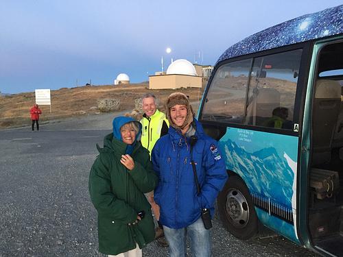 Mt John Observatory Pam and Byron