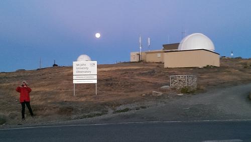 Mt John Observatory view