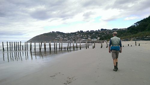 St Clair Beach in Dunedin