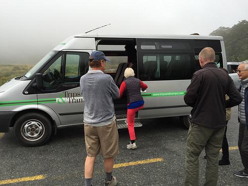 Trips and Tramps van
