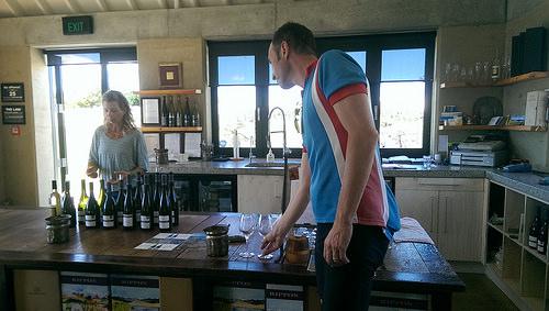 Rippon Vineyard wine tasting