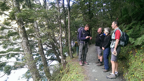 Rob Roy Guided Walk plant talk