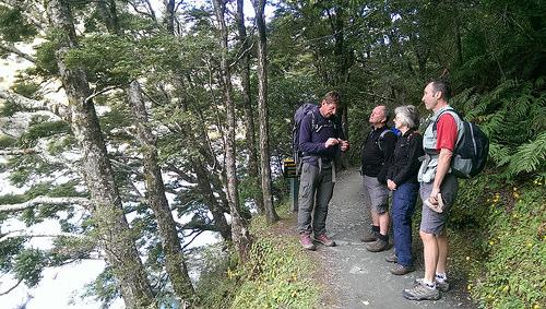 Rob Roy Guided Walk plant talk