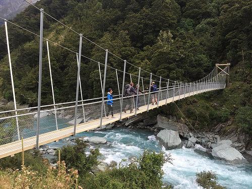 Rob Roy Walk swing bridge