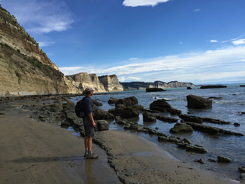 Cape Kidnappers walking back