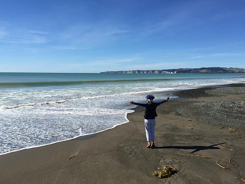Clifton Beach at Te Awanga