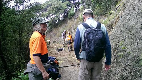 Kapiti Island DOC staff