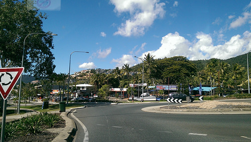 Airlie Beach roundabout
