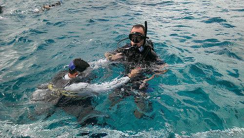 Calypso diving Michael