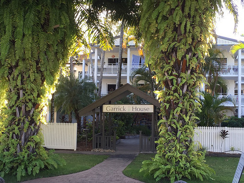 Garrick House has a great location close to Port Douglas beach
