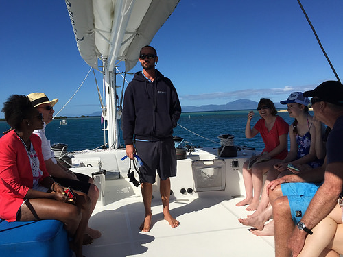 Sailing and snorkelling port douglas5