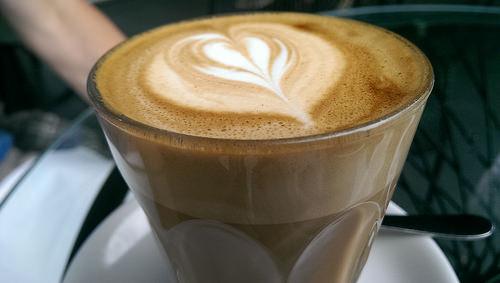Latte small size