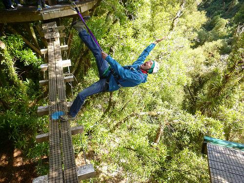 Canopy Tour jump