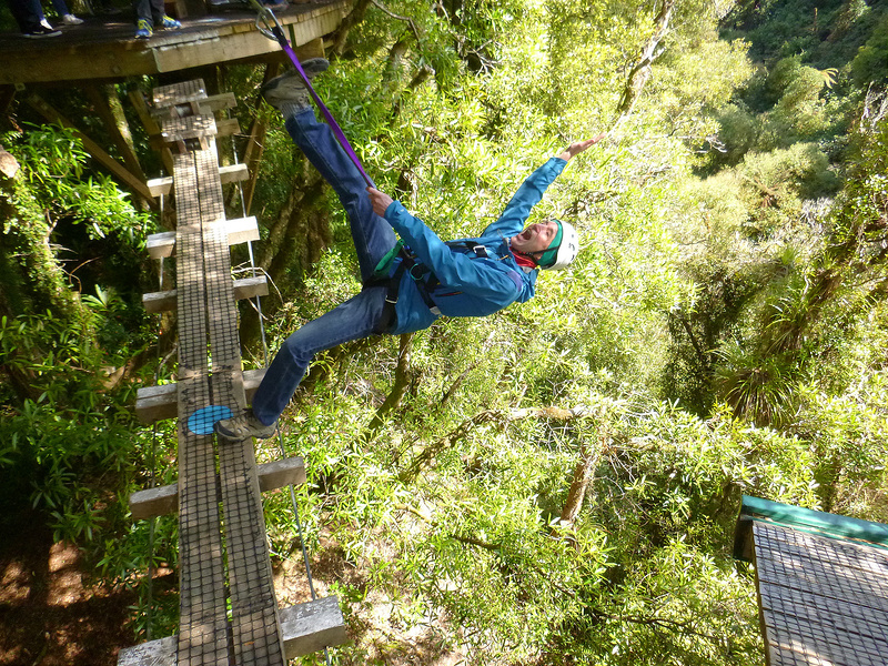 What to do in Waitomo - abseiling