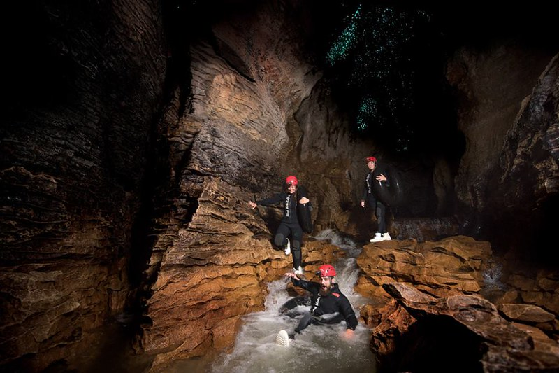 What to do in Waitomo - caving options