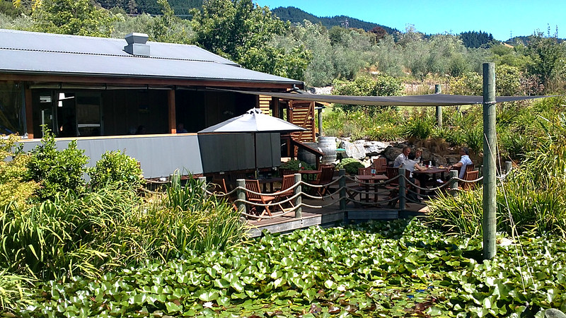 New Zealand summer holidays at Fossil Ridge Vineyard restaurant