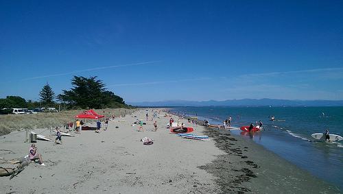 Waitangi Day Beach